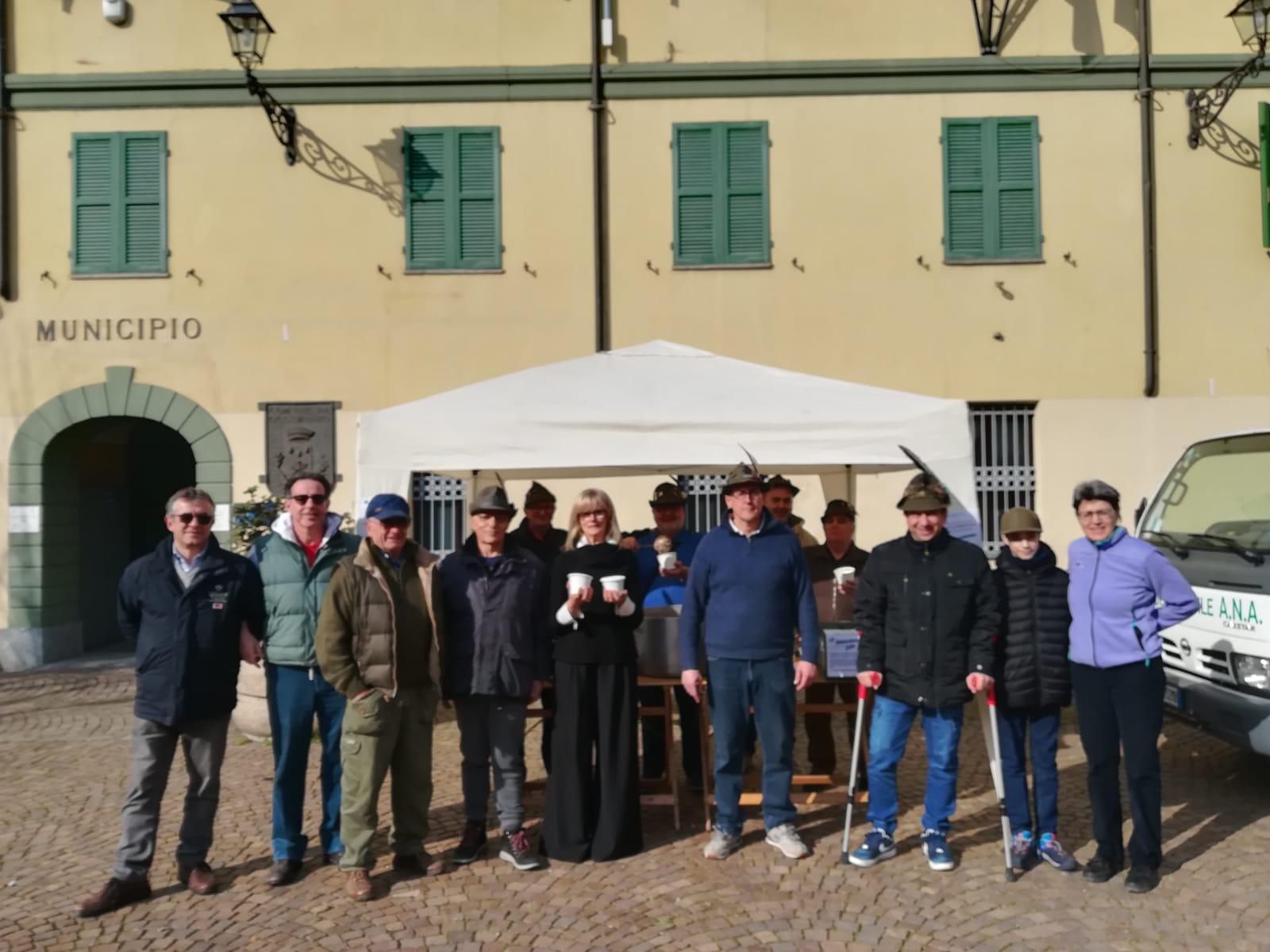 pasta e fagioli benefica con il Gruppo Alpini e Protezione Civile sabato 15 febbraio