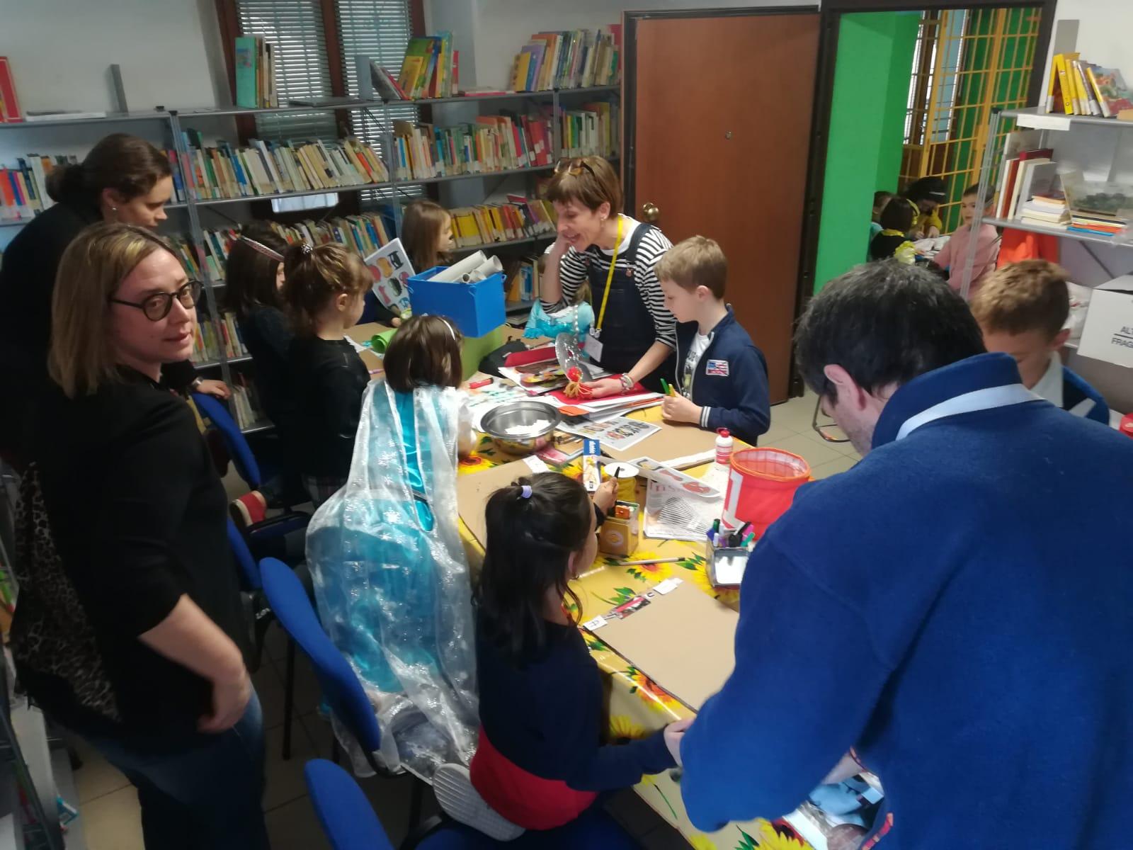 laboratorio di Carnevale in Biblioteca domenica 16 febbraio